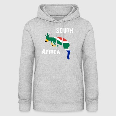 Design Nation Afrique du Sud Springbok Wyv - Sweat à capuche Femme
