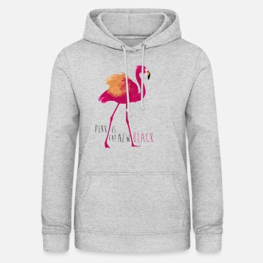 Animal Planet Flamingo Pink is the new black - Frauen Hoodie