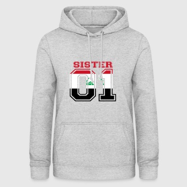 Sister Sister princess 01 queen iraq - Women's Hoodie