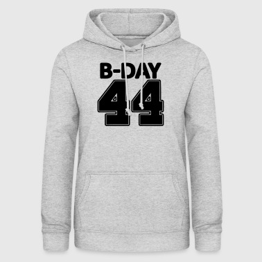 Number 44 years number number 44th birthday numbers jersey - Women's Hoodie