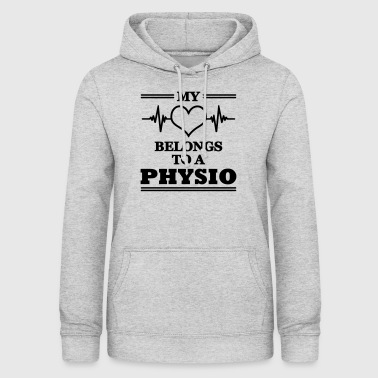 Physiotherapy My heart belongs to a physio - Women's Hoodie