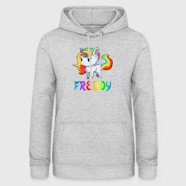 Freddy Unicorn Freddy - Women's Hoodie