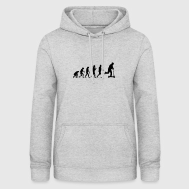 Scooter evolution scooter development gift - Women's Hoodie