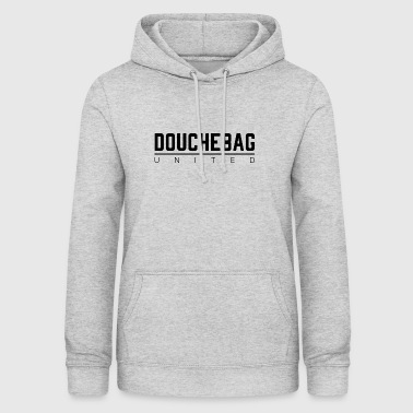 DOUCHEBAG UNITED - Felpa con cappuccio da donna