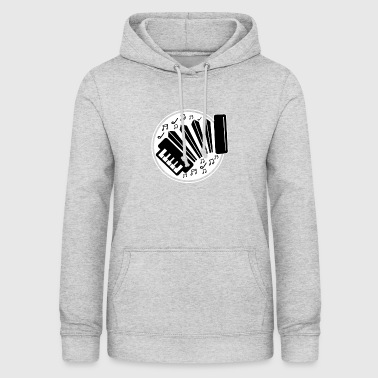 I love accordion music with the accordion - Women's Hoodie