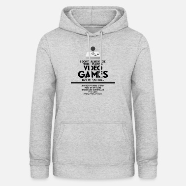 Video VIDEO GAMES - Women's Hoodie