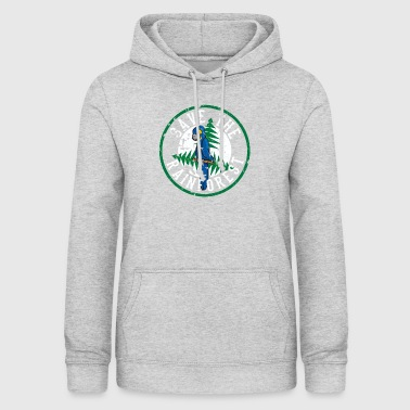 Save the Rainforest - Save the Animals - Oeroude boom - Vrouwen hoodie