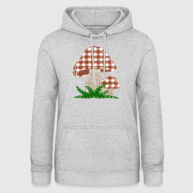 Sy champignon svampe - Dame hoodie
