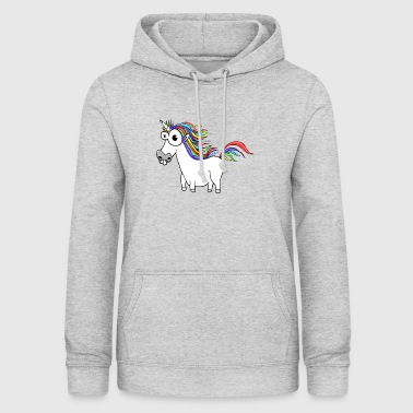 Unicorn Unicorn Cartoon Funny - Women's Hoodie