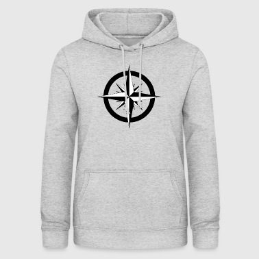 Compass Rose Stylish vintage look - Women's Hoodie