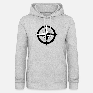 Stylish Compass Rose Stylish vintage look - Women's Hoodie