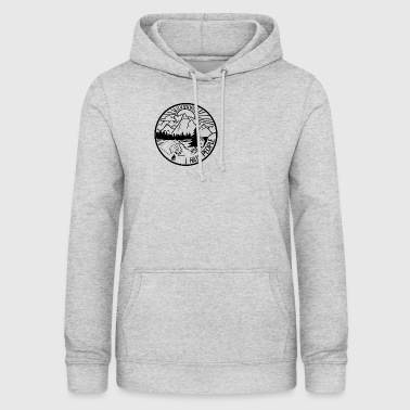 I hate People - Nature, Camping, Outdoor, Hiking - Women's Hoodie