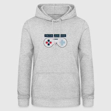 Retro Gaming - Sweat à capuche Femme