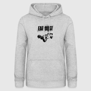 RC Car Racing On Off-Roader EAT DUST BLACK - Women's Hoodie
