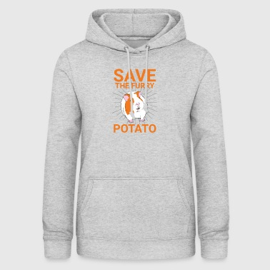 SAVE THE FURRY POTATO - Women's Hoodie
