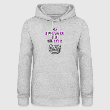 50 NUANCES OF GRAFTING - WORDS OF WORDS - Women's Hoodie