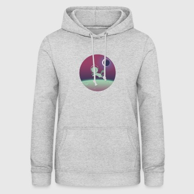 Space Cat Space Cat - Sudadera con capucha para mujer