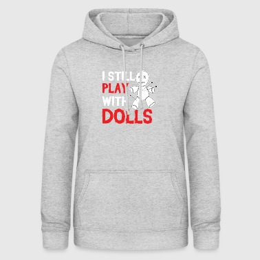 Playing with dolls - Voodoo doll - Women's Hoodie