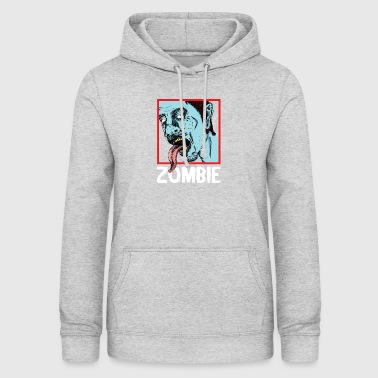 Zombie zombier - Dame hoodie