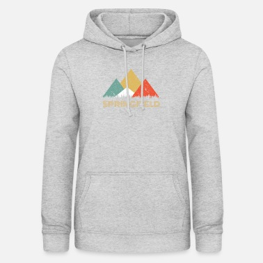 Springfield Retro City of Springfield Mountain Shirt - Women's Hoodie
