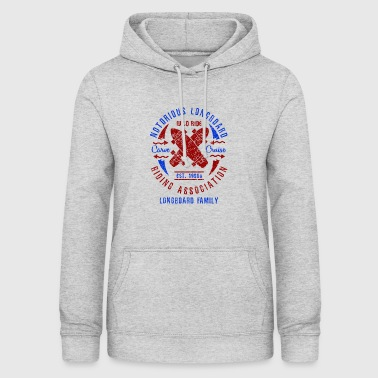 Notorious Longboard Riding Association - Women's Hoodie