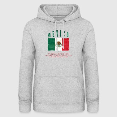 Mexicansk Flag Bandera Mexico - Dame hoodie