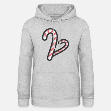 Cane candy Cane - Women's Hoodie
