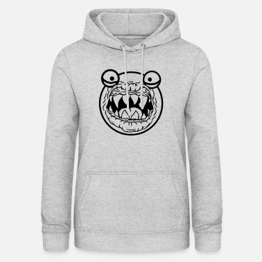 Hunter round circle head ball monster horror halloween gesi - Women's Hoodie