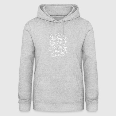 Shirt for adventurers - Women's Hoodie