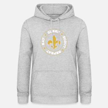 Boy Scouts Eat Sleep Scout Repeat - Scout Scouting - Women's Hoodie