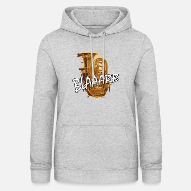 Instrument blaaarb tuba music wind instrument - Women's Hoodie