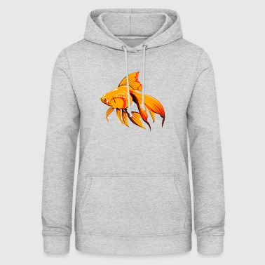 Poisson Rouge poisson rouge - Sweat à capuche Femme