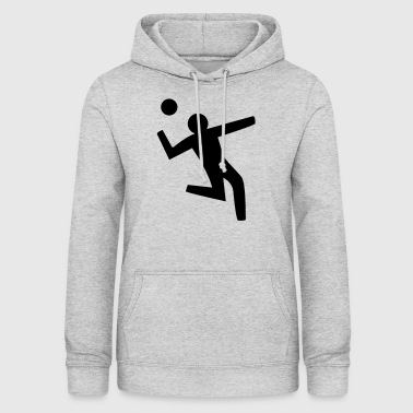 Pictogramme de basket-ball - Sweat à capuche Femme