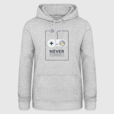 1990 Super Konsole Gaming - Never Forget Retro 1990 - Frauen Hoodie