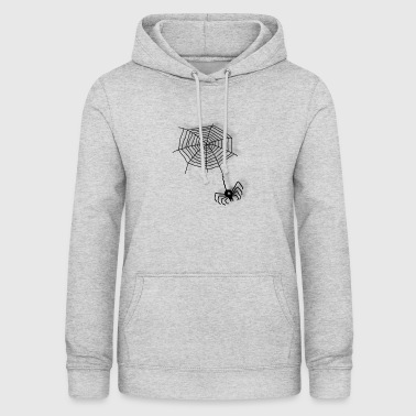 Net Spider on the net - Women's Hoodie