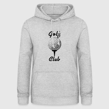 Club de golf / Golf / Club - Sweat à capuche Femme