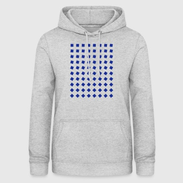 Blue blocks - Women's Hoodie