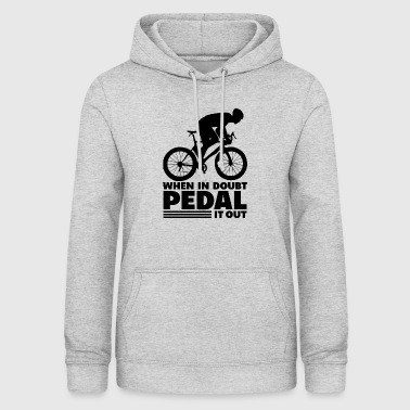 Bike Single Speed Fixie Mountain Bike Gift - Vrouwen hoodie