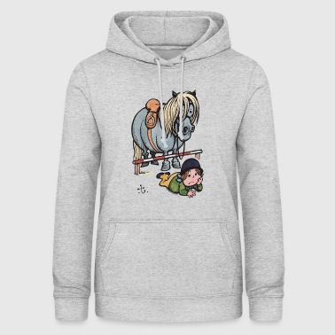 Thelwell Funny Showjumping Gone Wrong - Vrouwen hoodie