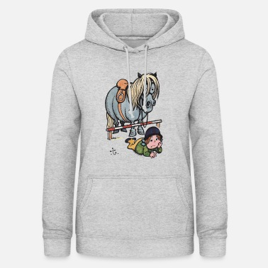 Thelwell Funny Showjumping Gone Wrong - Women's Hoodie