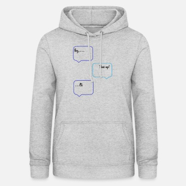 Sm SMS chat - Women's Hoodie