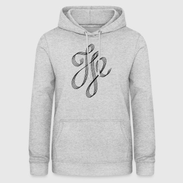 Curved Calligraphic Swash - Women's Hoodie