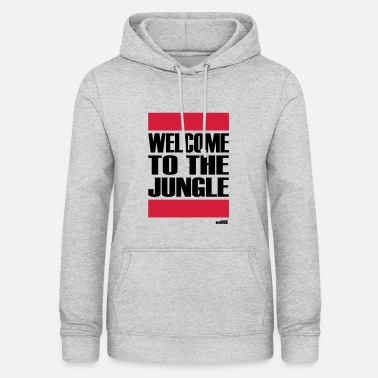 Welcome to the jungle - Felpa con cappuccio da donna