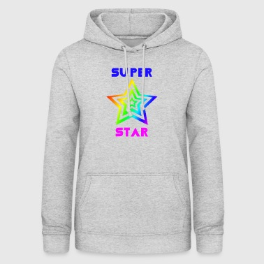 Rainbow Super Star - Women's Hoodie