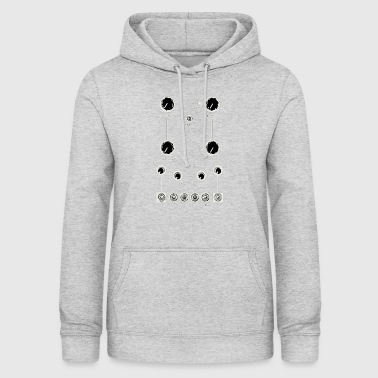 Vintage synthesizer modular board - Women's Hoodie
