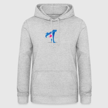Pretty Woman's Legs With A Thong - Women's Hoodie