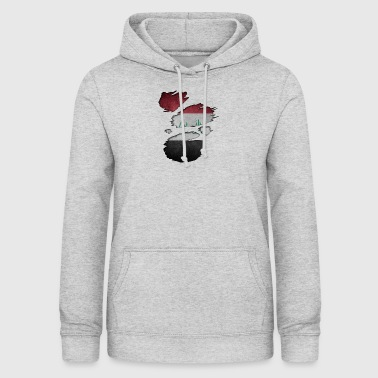 Roots Superland i love iraq irak - Women's Hoodie