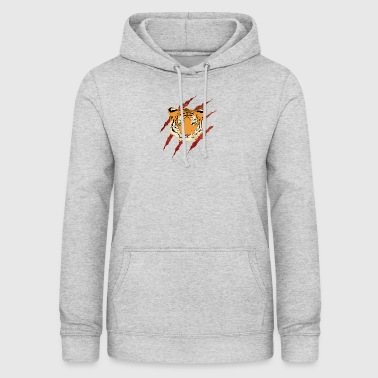 Wild animal tiger danger - Women's Hoodie