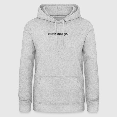 Camouflage - Dame hoodie