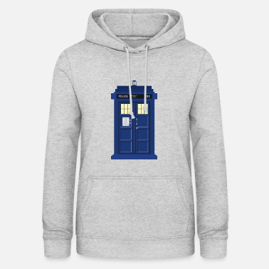 Doctor Who Druk Tardisa Doctor Who - Bluza damska z kapturem